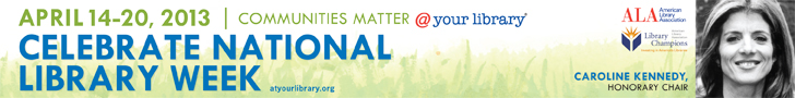 National Library Week 2013 Banner